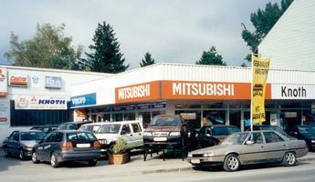 Autohaus Knoth 1988